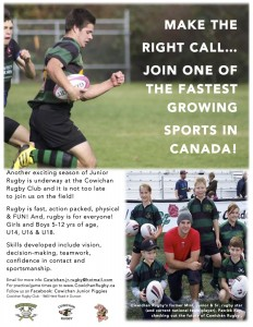 Cowichan Junior Rugby